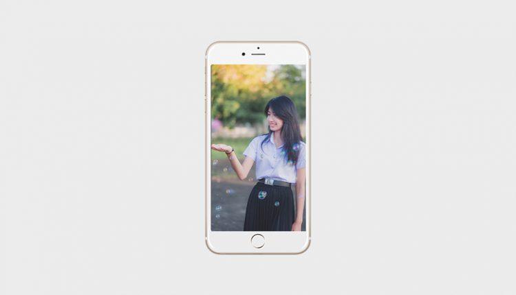 วิธีทำภาพวอลเปเปอร์ ให้พอดีกับขนาดหน้าจอมือถือ iPhone